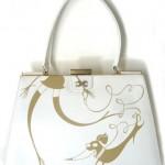 girlpurse - handpainted vintage purse, SOLD