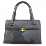 girlpurse - handpainted vintage purse