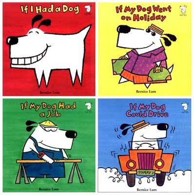 the stanley the dog series - published by bloomsbury children's books, uk