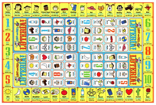 illustrations for chickadee magazine lotteria game, canada