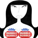 """""""dubblebubble"""" - pen, digital, paper - 12"""" x 12"""" SOLD - prints available"""