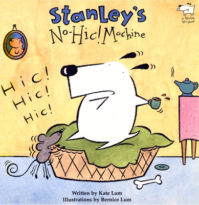"stanley""s no-hic! machine - published by bloomsbury children's books UK"
