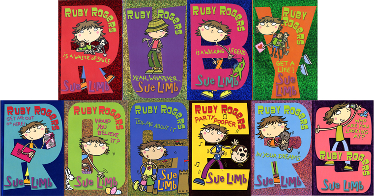 the ruby rogers series - illustrations for cover and interior - published by bloomsbury children's books, uk