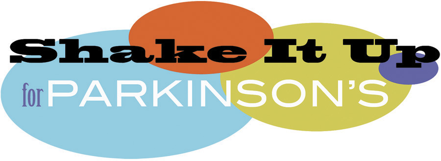 logo for shake it up for parkinson's event, canada