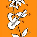 dancing flower - series of illustrations for father's day products - boots, uk