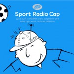 sports radio cap - series of illustrations for father's day products - boots, uk
